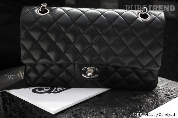Incontournable    L'indémodable 2.55, noir, tel que l'a créé Coco Chanel en 1955.