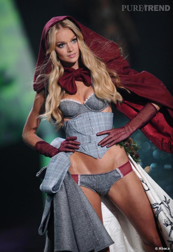 Victoria's Secret revisite le style petit chaperon rouge.