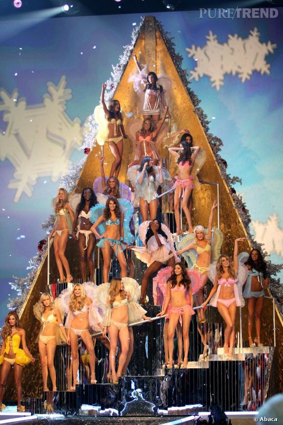 Un sapin de Noël qui réjouirait une bonne partie de la gent masculine !
