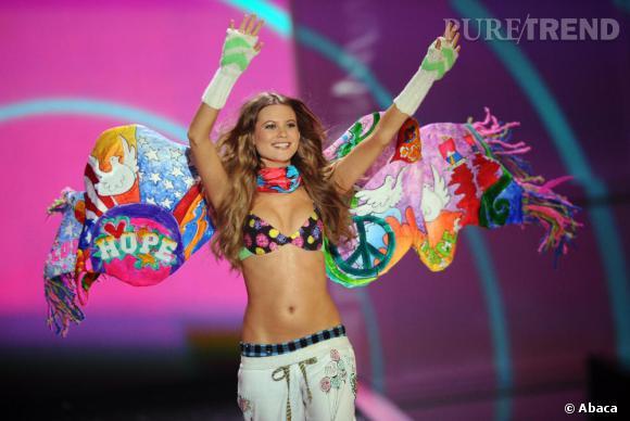 Papillon peace&love coloré pour le défilé 2009