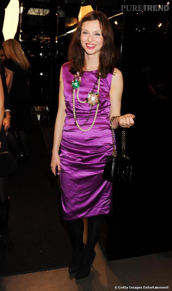 Sophie Ellis Bextor à la soirée Dolce & Gabbana et Instyle à Londres.