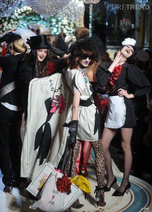 J'y étais au défilé H&M à New york