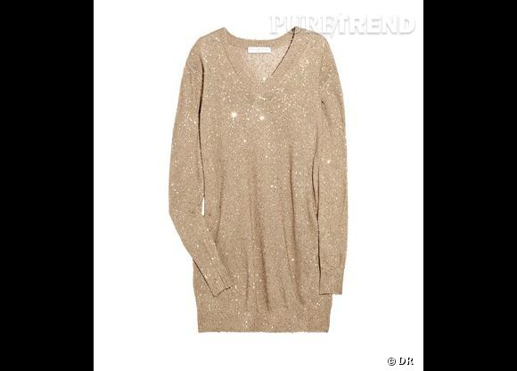 Robe-pull sequin Stella McCartney, 745€ sur Net-a-porter.com.