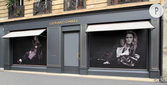 Nouvelle boutique Gérard Darel rue de Sèvres.