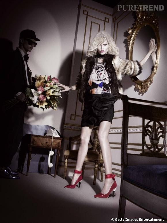 La collaboration de l'année : Lanvin pour H&M      Glamour, désirable et limitée, la collection Lanvin pour H&M avait tout  pour être le carton annoncé. Égéries superstar, créateur inspiré et créations féminines à prix réduit, la nouvelle collaboration du suédois a enchanté les foules. Robes de cocktail, volants, froufrous, imprimés sauvages, stilettos brillants et bijoux extravagants, Alber Elbaz a imaginé en avance les tenues de fête qui conservent toutes l'ADN Lanvin.
