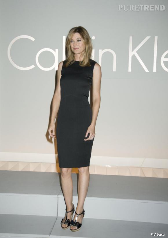 2010 : Ellen Pompeo parie sur l'indémodable petite robe noire.