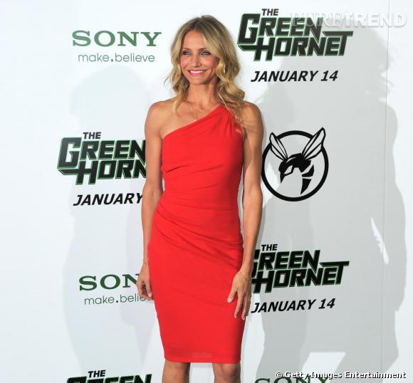 """Cameron Diaz lors de la première du """"Green Hornet"""" à Los Angeles."""