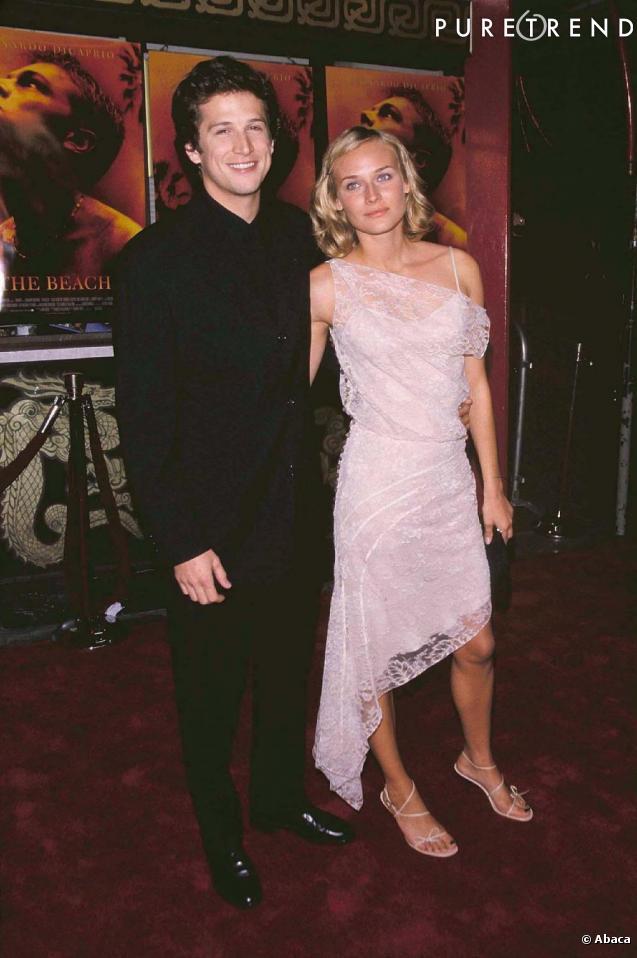 En 2000 Guillaume Canet Et Diane Kruger