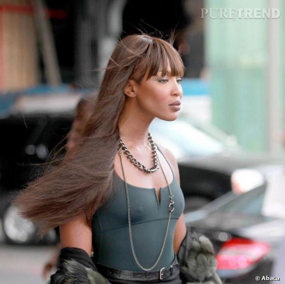 Naomi et ses cheveux, une éspèce en voie de disparition...