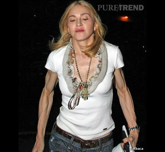 Madonna en mode Hard candy...