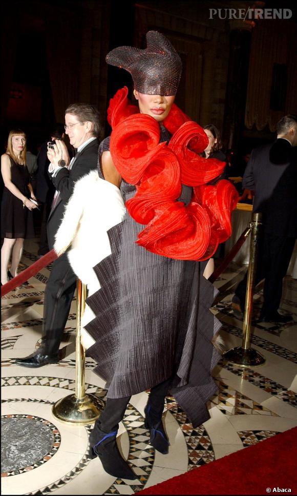L'originale  : Grace Jones en 2003.
