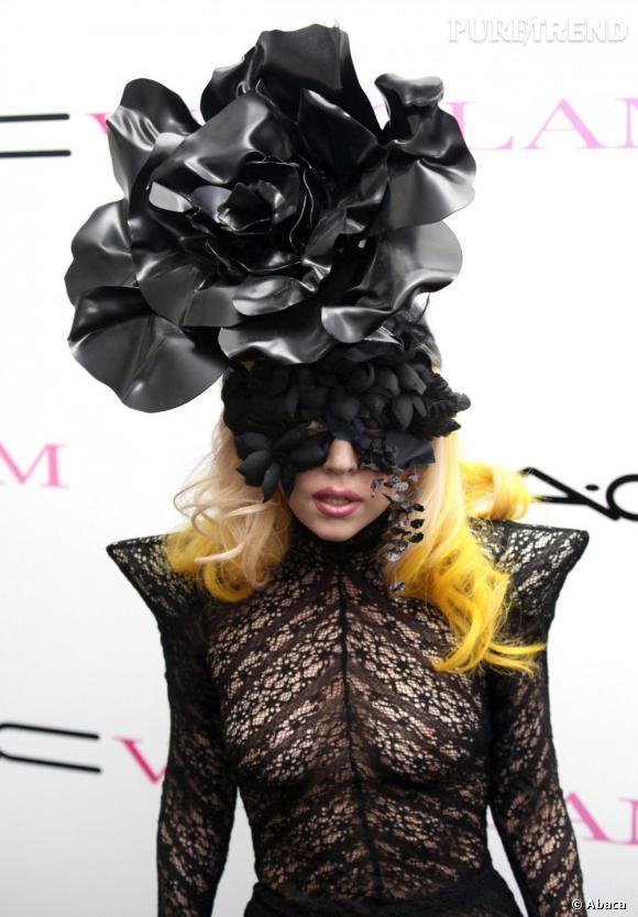 La copie  : Lady Gaga en 2010.