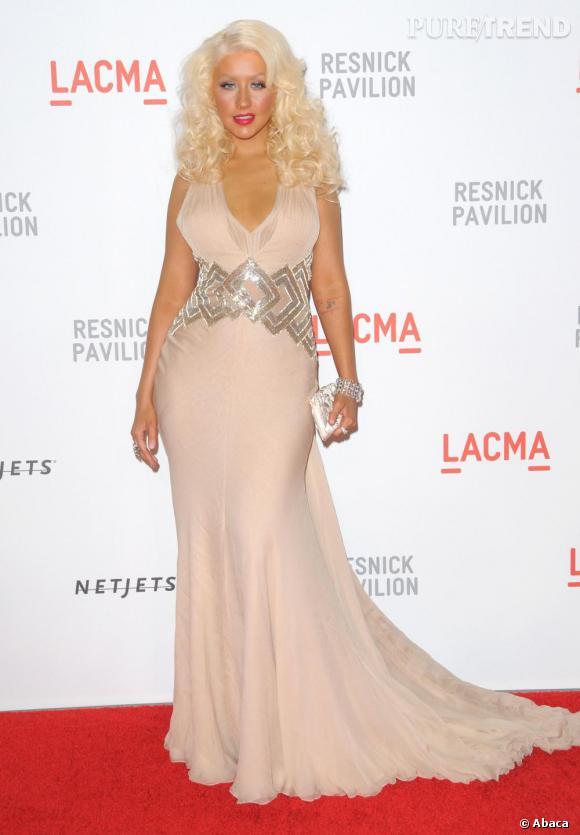 La copie : Christina Aguilera en 2010... (On plaisante !)