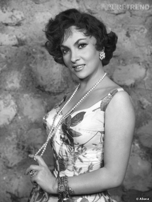 L'originale : Gina Lollobrigida dans les années 50.