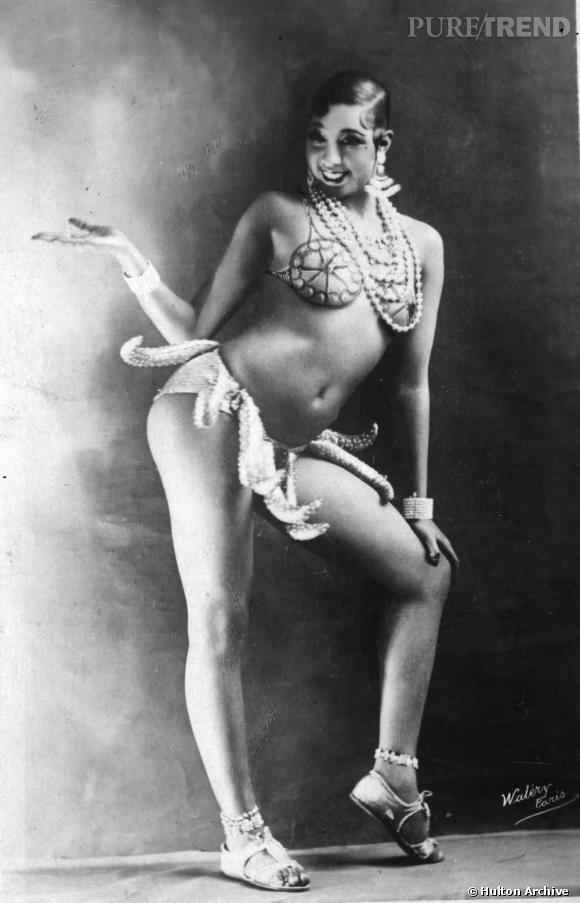 L'originale  : Joséphine Baker en 1925.
