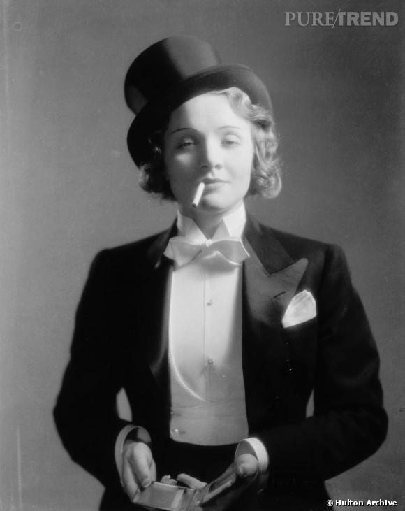 L'originale  : Marlène Dietrich en 1930.