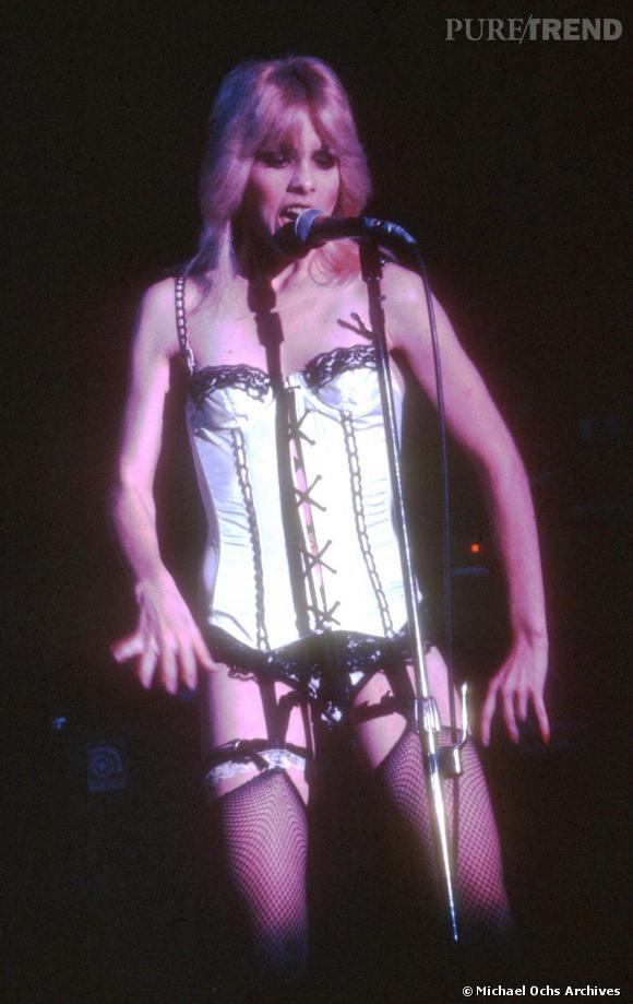 L'originale  : Cherie Currie en 1977.