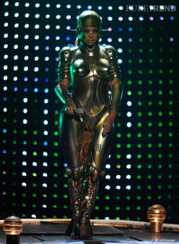 La copie  : Beyoncé en 2007.