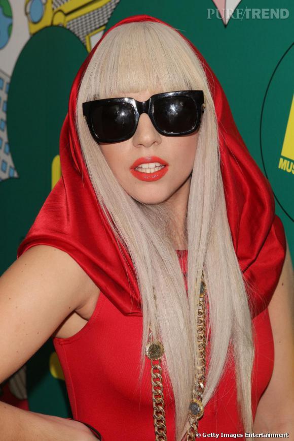 La copie  : Lady Gaga en 2008.