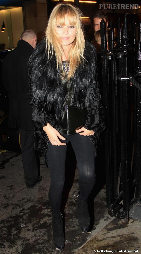 La copie  : Kate Moss en 2010.
