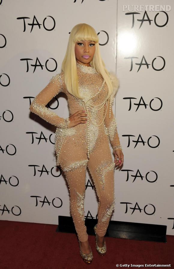 La copie 2  : Nicki Minaj en 2010.