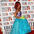 Rihanna lors des Brit Awards 2011 à Londres.