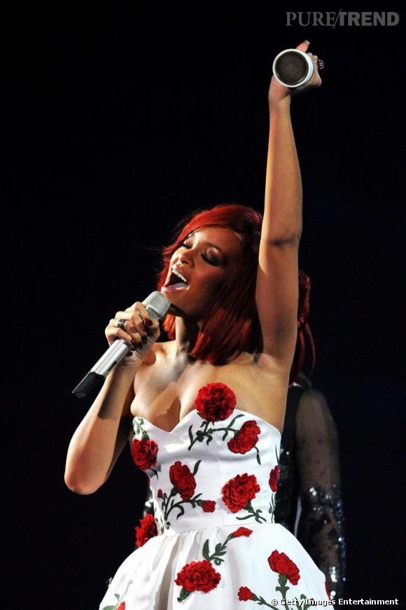 La chanteuse a été récompensée du prix de la Meilleure Artiste Internationale de l'année.