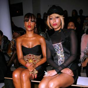 Eve et Keri Hilson au défilé The Blonds.