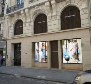 Michael Kors ouvre sa première boutique parisienne