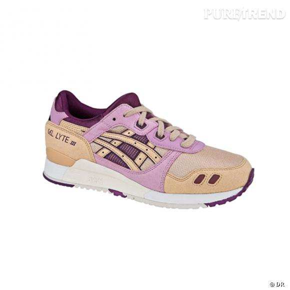 Fashion obsession : les sneakers !      Lady Gel Lyte III Asics, 100 €.