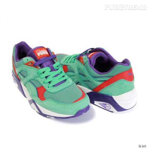 Fashion obsession : les sneakers !      Basket R698 Puma x Classic Kicks, 120 € sur  colette.fr