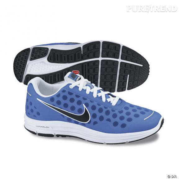 Fashion obsession : les sneakers !      Running Lunar Swift 2+ Nike, 100 €.