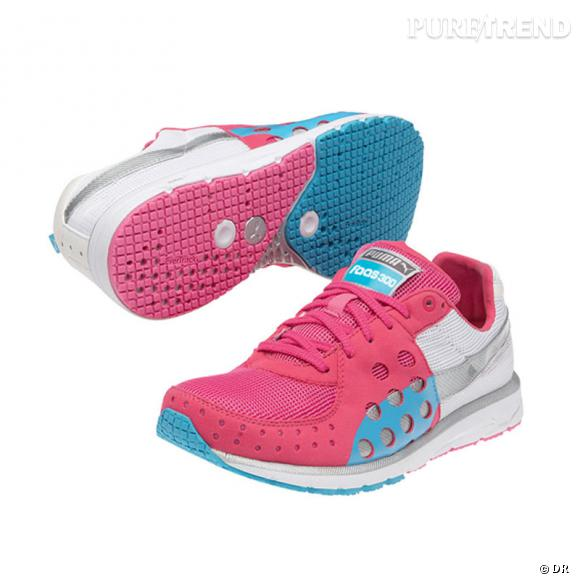 Fashion obsession : les sneakers !      Basket Puma, 100 €.