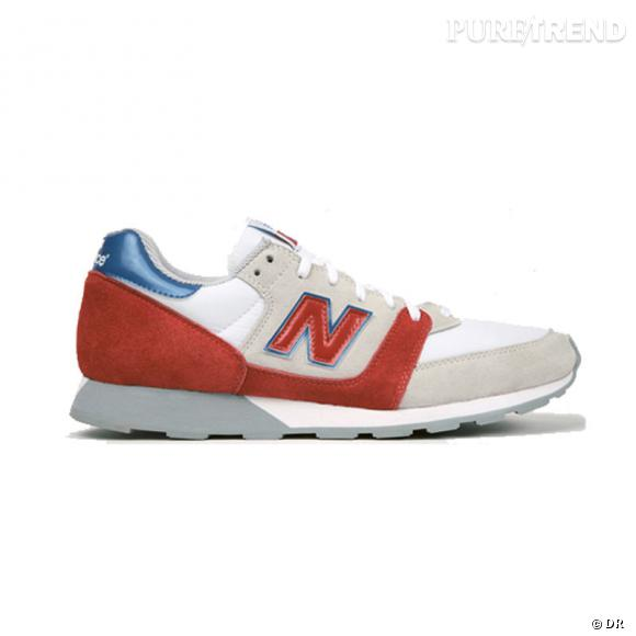 Fashion obsession : les sneakers !      Classic Running New Balance, 85 €.