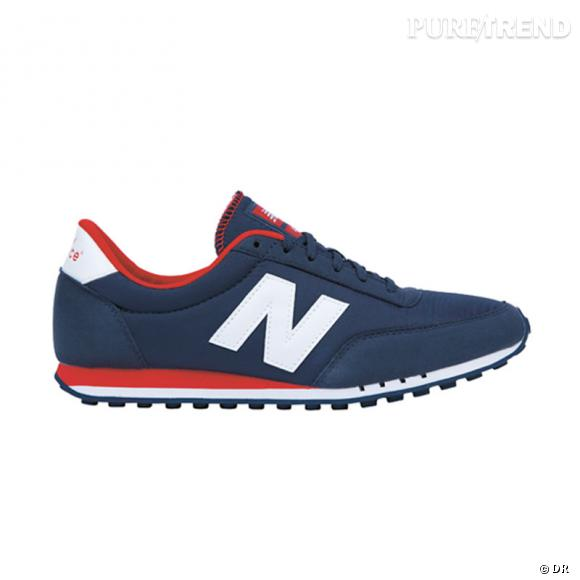 Fashion obsession : les sneakers !      Classic Running New Balance, 75 €.