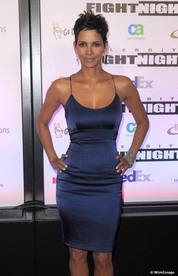 Halle Berry au gala caritatif Celebrity Fight Night XVII de Mohamed Ali à Phoenix.