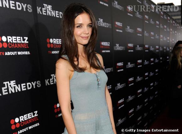 Katie Holmes à l'avant-première de The Kennedys, à Beverly Hills.