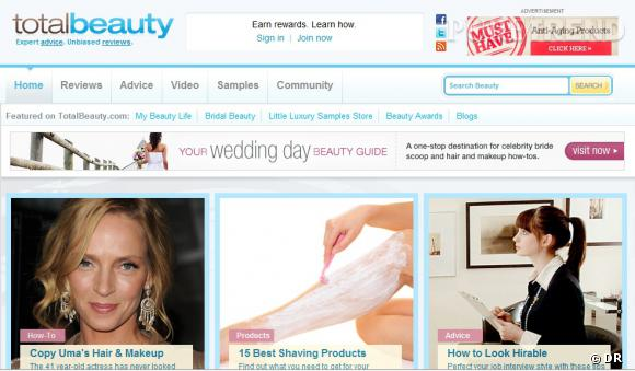 """Nom  :  totalbeauty.com     Ce qu'on aime  : les colonnes """"beauty new"""", """"beauty tip of the day"""", la rubrique """"advice"""" et la base de données pour rechercher des produits. Le blog est très bien construit."""