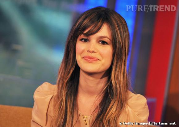Rachel Bilson invitée à une émission de la Fox à New York.