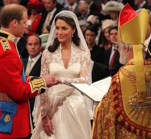 Kate Middleton parée par Cartier et Robinson Pelham pour son mariage