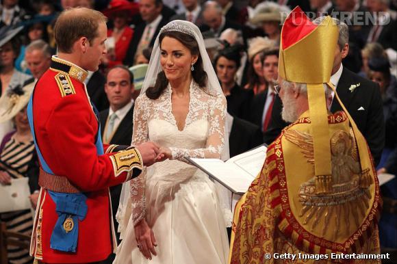 Kate Middleton et le Prince William à Westminster