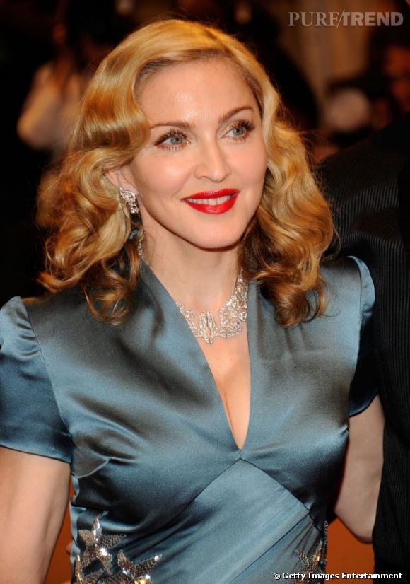 Madonna à la soirée au Met à New York.
