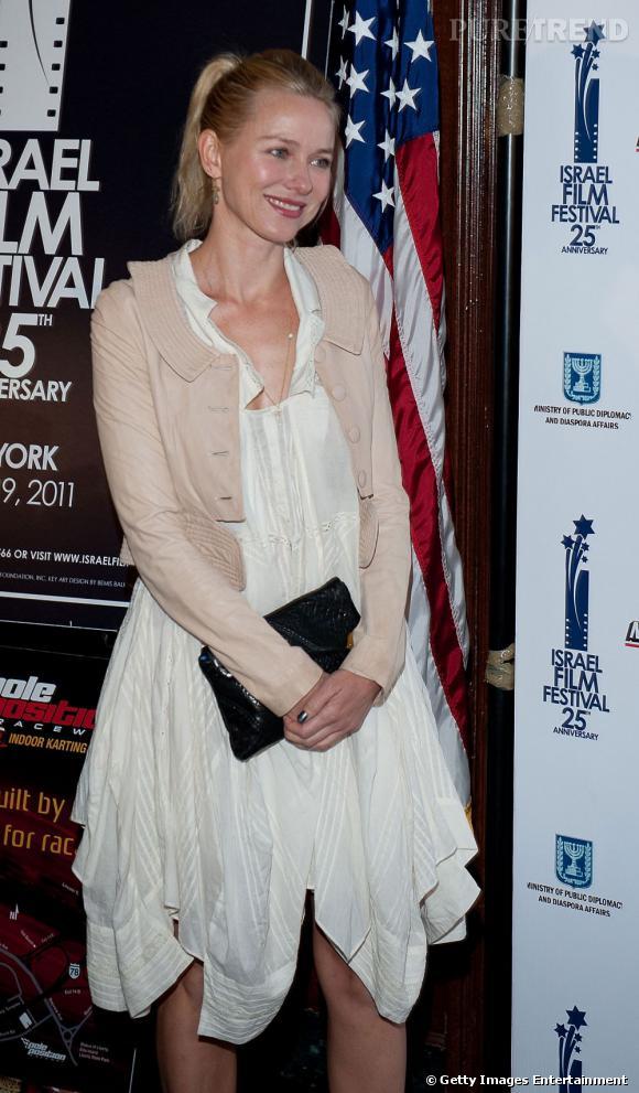 Naomi Watts au Festival du Film d'Israël, à New York.