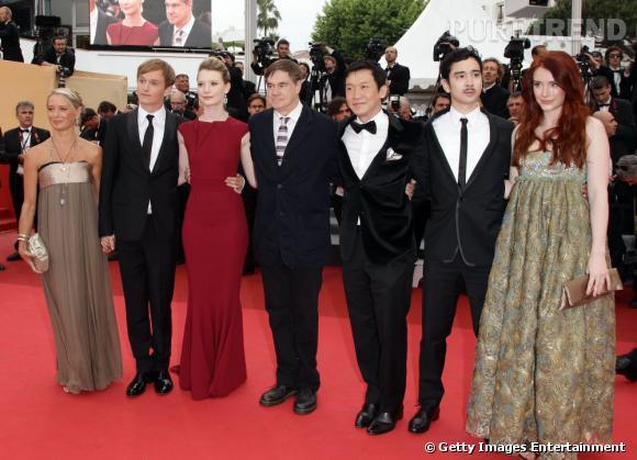 "La team du film ""Restless""."