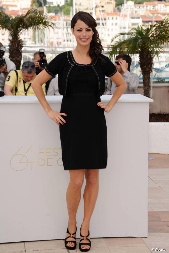 """Bérénice Bejo au photocall de """"The Artist"""", à Cannes."""