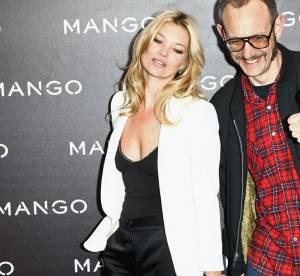 Kate Moss et Terry Richardson au défilé Mango