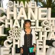 2008 :    Zoë devient une Chanel girl en total look black & white.