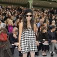 2008 :     Chez Chanel, elle apporte un peu de twist en front row.