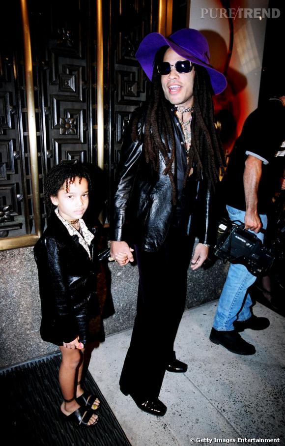 1997 :    Zoë est tout simplement la version miniature de son daddy cool.
