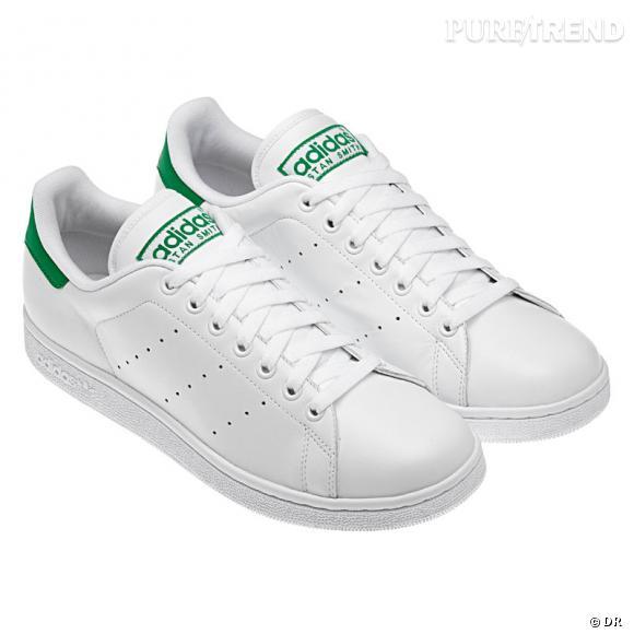adidas blanche et verte